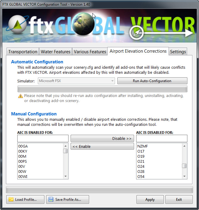 FSX - settings scenery library  - General Discussion - no