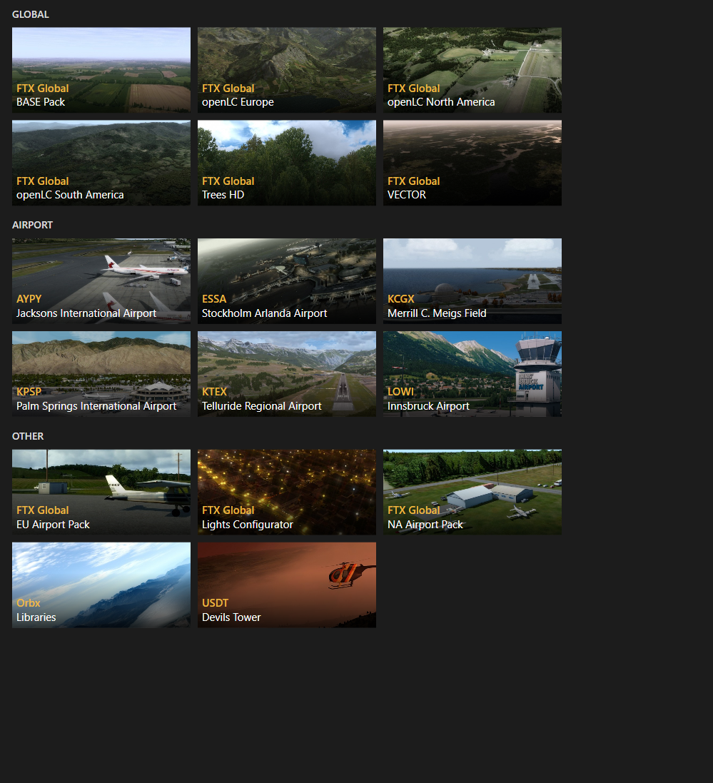 BrianT's Content - Orbx Community and Support Forums