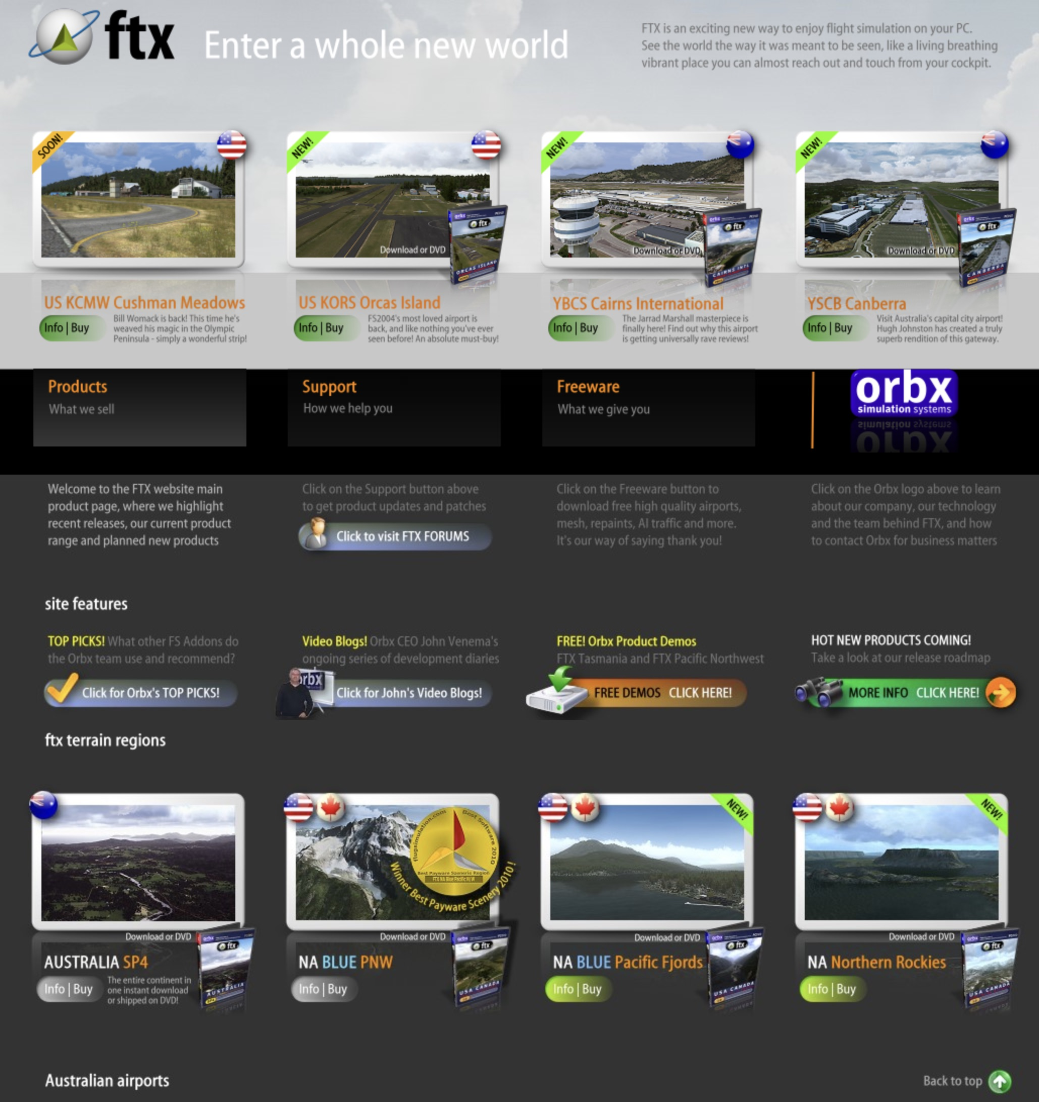 announcement] Orbx 10th Anniversary - The History of Orbx Series