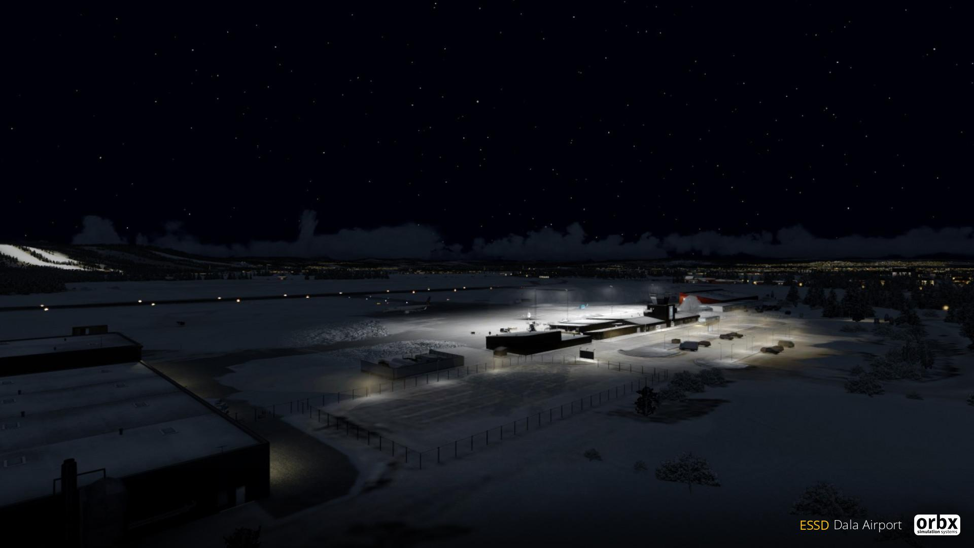 The Swedish Bundle: ESSD Dala Airport - Preview Screenshots