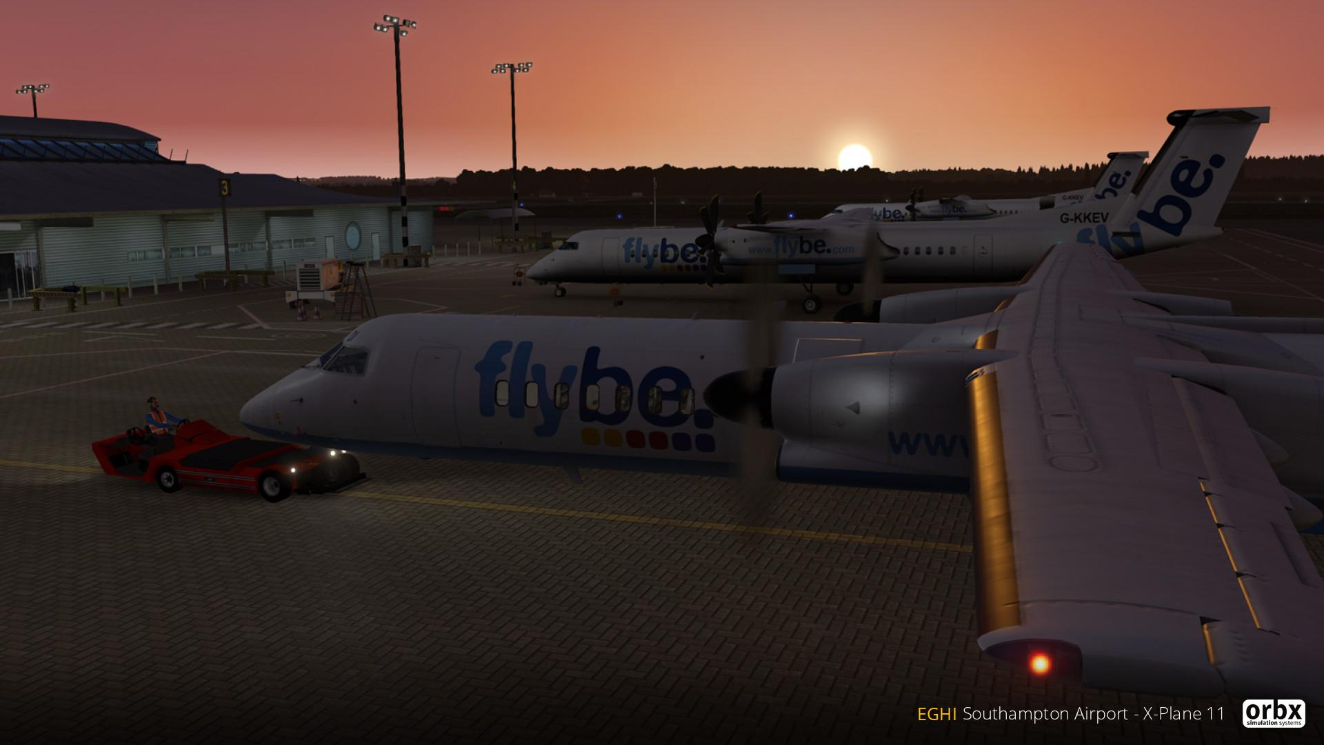 EGHI Southampton Airport makes the leap to X-Plane 11