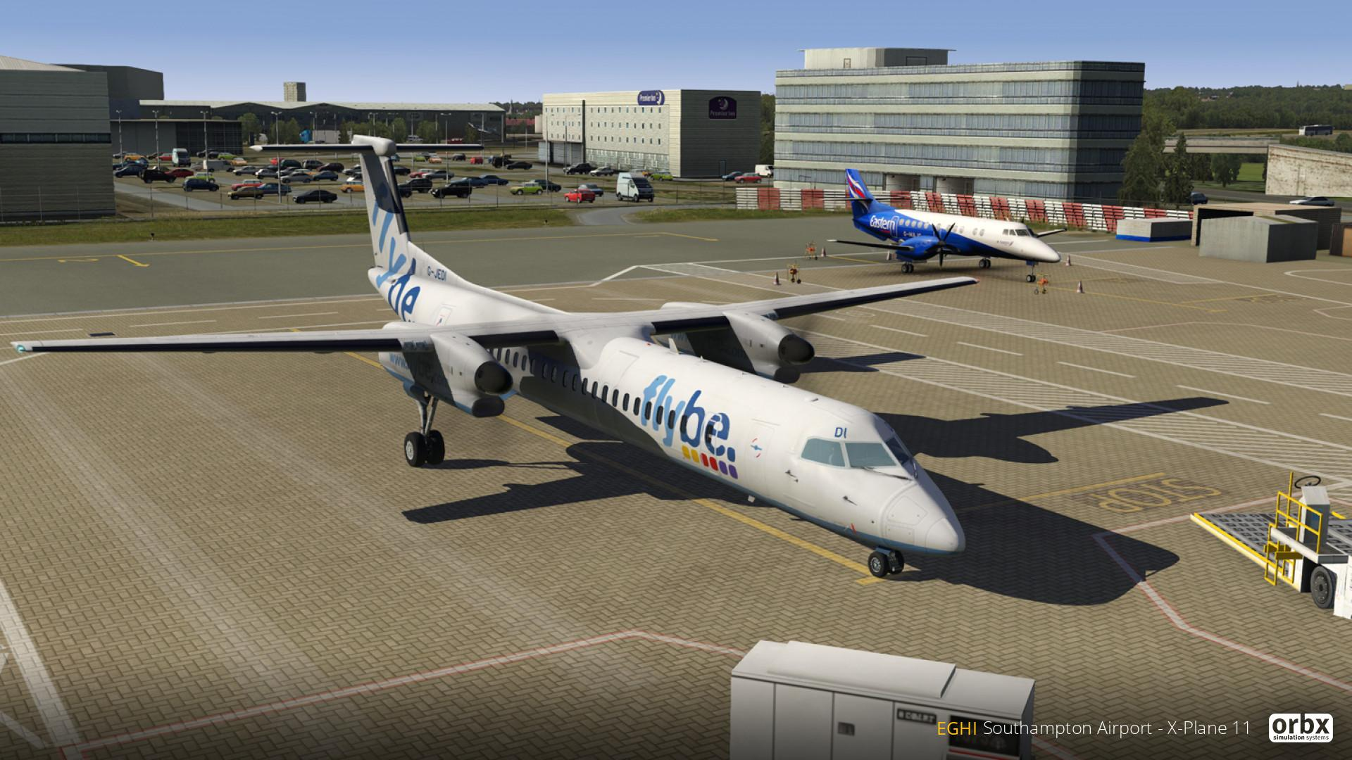 announcement] Explore EGHI Southampton Airport in X-Plane 11