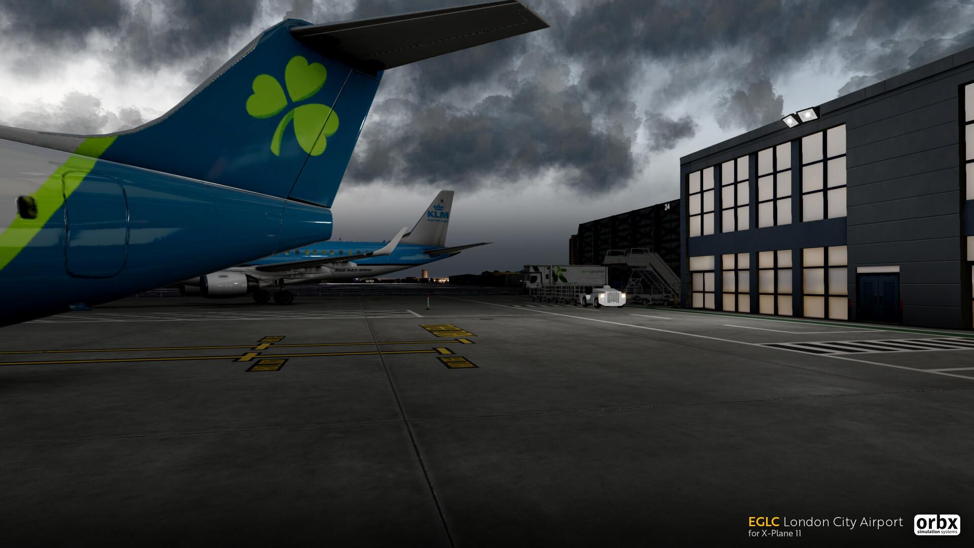 EGLC London City Airport Officially Announced for X-Plane 11