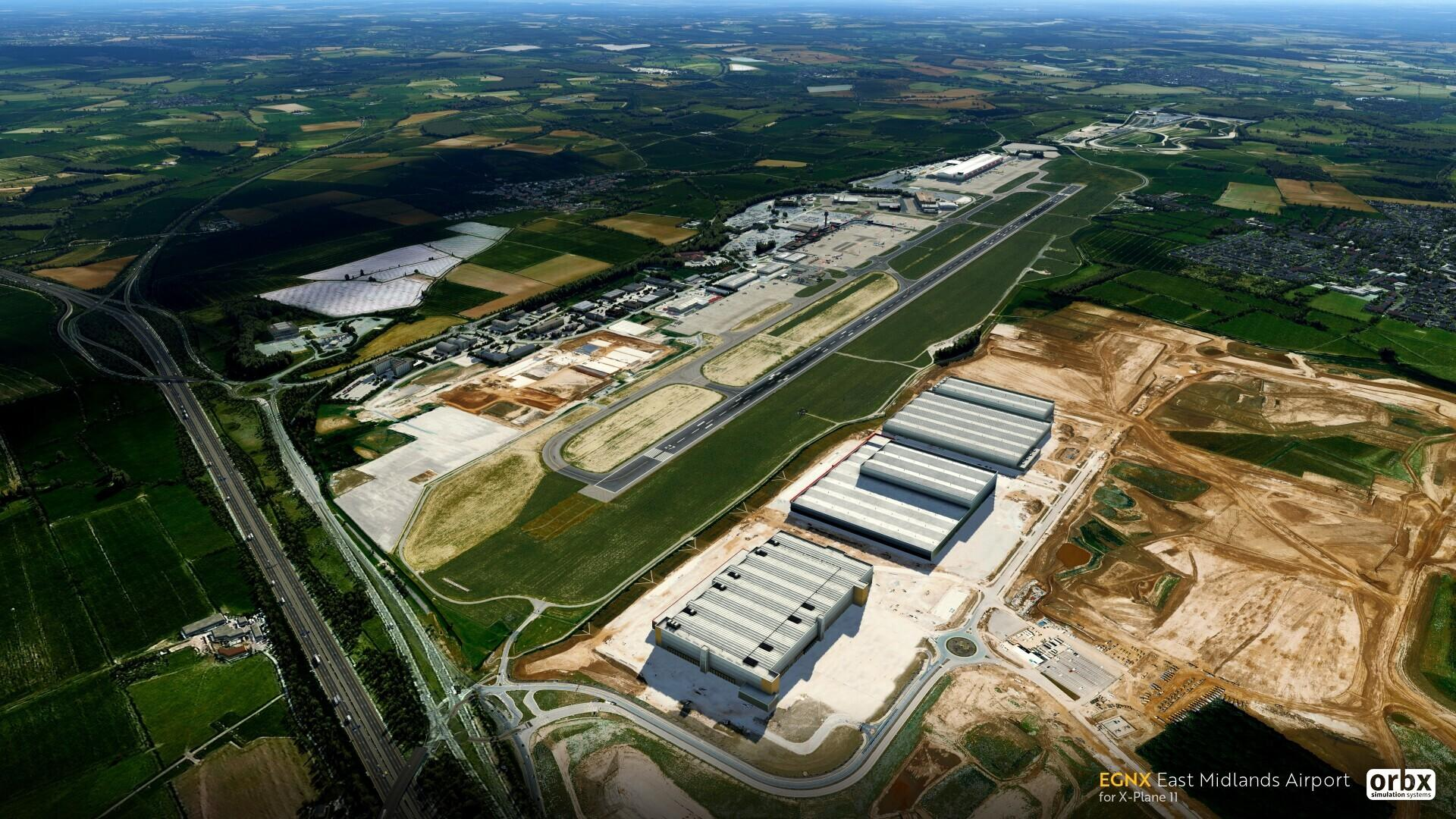 announcement] EGNX East Midlands Airport Lands on X-Plane 11