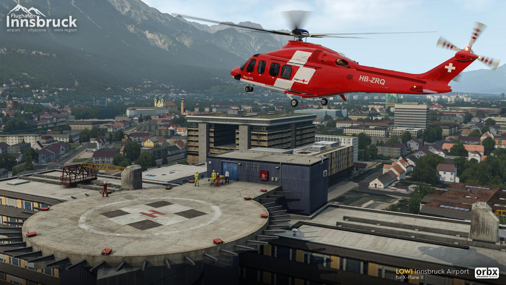 announcement] LOWI Innsbruck Airport released for X-Plane 11
